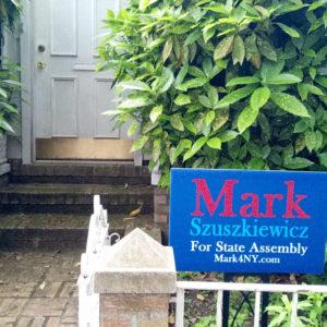 Mark4NY Lawn Sign